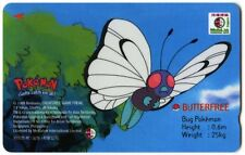 Butterfree Pokemon Medialink Singtel Phonecard (C1100)