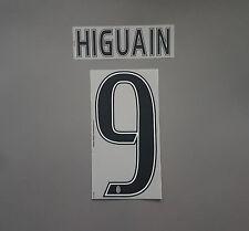 Juventus Turin Higuain Name Set 2016/2017 Juve Serie A Italy Flock