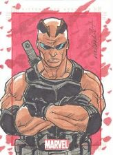 2014 Marvel 75th Anniversary Marco David Carrillo Sketch Card Of Blade RARE MINT