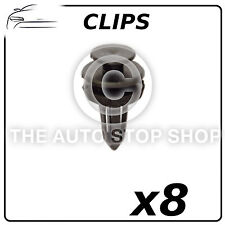 Clips Trim Clips 6,5 MM Fiat 500  Part Number: 11875 Pack of 8 In Plastic Bag
