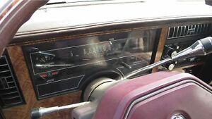 Buick Century: 1982, 1983, 1984, 1985, 1986, 1987 - 1993, Speedometer - Cluster