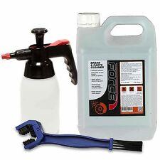 Force Brake Cleaner, Pump Bottle & Chain Brush Combo - 2.5ltr - Brake & Chain
