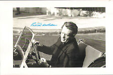 PATRICK McGOOHAN THE PRISONER SIGNED CERTIFIED PHOTO POSTER COA AUTOGRAPH LOTUS