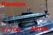 "Easy Model 1/700 Russian ""Akula"" Submarine Plastic Model #37304"