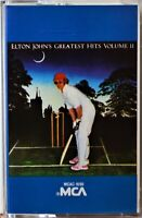Cassette Elton John Greatest Hits 2 TESTED Lucy in the Sky Someone Saved My Life