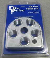 Dillon Precision XL650 Style 5 Station Toolhead P/N 13863 NEW