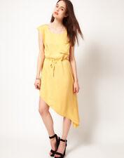 Staple Asymmetric Drawstring Dress