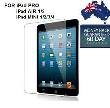 iPad MINI 1,2,3,4 & AIR 1/2 / PRO iPad 1/2/3/4 GENUINE TEMPERED GLASS PROTECTOR
