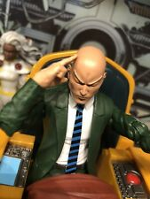 marvel legends / Mezco x-men custom Proffesor Xavier 3 Head Sculpts + Beast Head