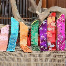 Wholesale 10 Mix-Color Chinese Silk Folding Hand Fan Pouch Chopstick Cover Case