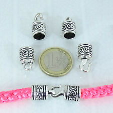 Clasps Bracelet Closures Perline Beads 8 Set Fastenings 33x10mm T301C Tibetan