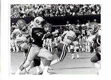 1984 Vintage Photo #36 Southern Illinois Salukis football line Sterling Haywood