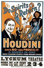 Magic Prints: Do Spirits Return