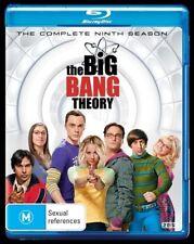 THE BIG BANG THEORY SEASON 9, BLU-RAY, NEW & SEALED, REGION B, FREE POST.