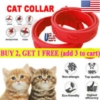 Adjustable CAT Flea Neck Collar for Dogs Cats Flea and Tick 8 Months Protection✅