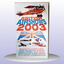 British Airshows 2003 Red Arrows Waddington Biggin Hill Airshow - VHS PAL - NEW