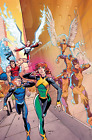 X-Men Blue #3 Mora Variant 1:25 Marvel Comics 1st Print