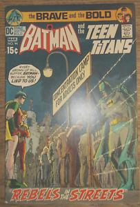brave and the bold 94 batman comic. 8.5 condition high grade copy