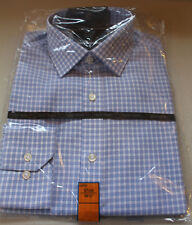 Mens M&S Collection Size 14.5 Cotton Non Iron Long Sleeve Slim Fit Shirt
