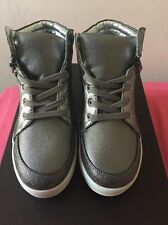 Kenneth Cole Reaction Missy Zip Girls' Toddler-Youth size 1- Gunmetal