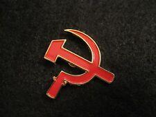 RUSSIA  *Vladamir Putin* RED HAMMER & SICKLE PIN COMMUNIST, C C C P