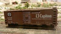 """Accurail HO Santa Fe """"El Capitan"""" 40' Boxcar. Upgraded, Exc."""