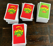2007 Apples to Apples Card Game Replacement Red and Green Game Cards Only