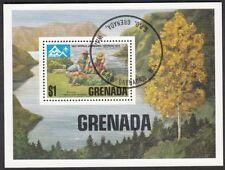 Grenada Block 55 gestempelt 50 Jahre Pfadfinderinnen auf Grenada