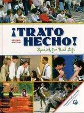¡Trato hecho!: Spanish For Real Life (2nd Edition) McMinn, John T., Rush, Patri