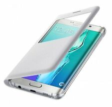 GENUINE Samsung Galaxy S6 Edge + PLUS S View Flip Cover Case EF-CG928PWEGUS