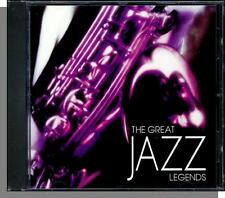 The Great Jazz Legends #4 - New Various Artists CD! Big Name Stars!