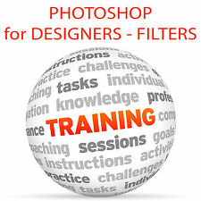 Adobe PHOTOSHOP for DESIGNERS: FILTERS - Video Training Tutorial DVD