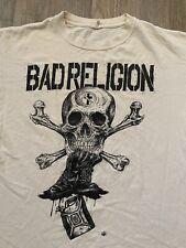 Vintage 2000S Bad Religion Band Tour Concert Rock T-Shirt Size L Anvil Rare Vtg
