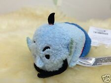 "Disney Store Aladdin and Jasmine Genie Mini Tsum Tsum 3.5"" Authentic NWT"