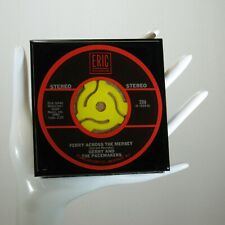 Gerry & the Pacemakers - Drink Coaster Made with The Original 45 rpm Record