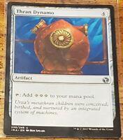 NM MTG Magic the Gathering 1x THRAN DYNAMO Commander//Mystery