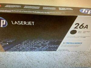 HP 26A Black CF226A Genuine LaserJet Toner Cartridge OEM