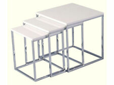 Less than 60cm Height Chrome Living Room Coffee Tables