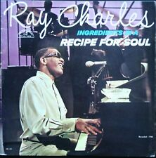 RAY CHARLES  INGREDIENTS IN A RECIPE FOR SOUL 33T LP BIEM VEGA ABC PARAMOUNT 550