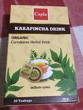Organic Curry Leaves Herbal Drink Karapincha Hebal drink 20 tea bags