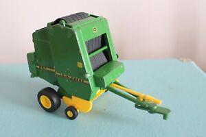 "Ertl 6"" JOHN DEERE 590 ROUND HAY BALER Diecast FARM Toy 1:32 Scale BAILER"