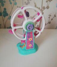 Vintage Polly Pocket 1996 Rides N Surprise Fun Fair Park Ferris Wheel Bluebird
