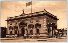 NEW BRIGHTON, Pennsylvania  PA    POST OFFICE  1912   Beaver County   Postcard