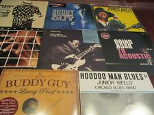 BUDDY GUY I WAS WALKING THRU WOODS 180 GRAM COLLECTION 9 TITLES TOTAL OF 14 LPS