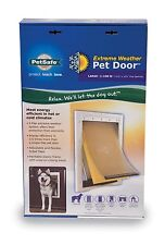 PetSafe Dog Door Heavy Duty Large Pet Doggie Ruff Extreme Weather Tri Flap Best