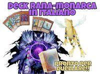 Yu-Gi-Oh! Deck Completo - Mazzo Rana Monarca - ITALIANO - 40 Carte