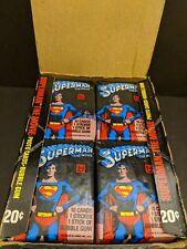 1978 Topps Superman The Movie Series 1 Box of 36 unopened Packs!