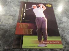 PETER JACOBSEN (golfer) 2001 UPPER DECK TOUR TIME ROOKIE card #182 MINT