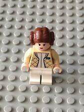 Star Wars LEGO MINIFIG Minifigure sw113 PRINCESS LEIA HOTH 4504 6212 RARE!