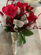Artificial Floral Pink/ White Special Occasion Bouquet